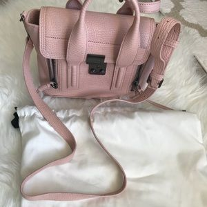 3.1 Phillip Lim Pashli Mini Leather Satchel Petal